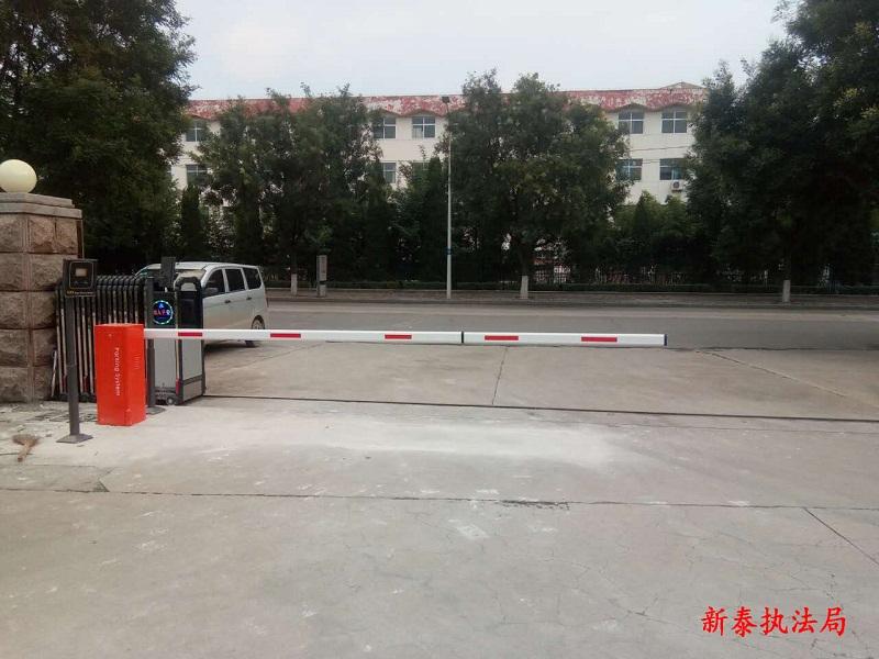 济南蓝牙道闸安装案例展示