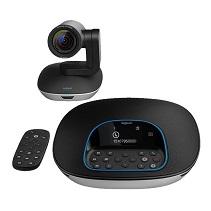 罗技CC3500e电脑摄像头高清电话会议系统带麦克风